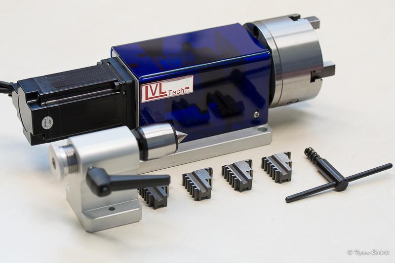 4°Asse per macchine CNC LVLTech